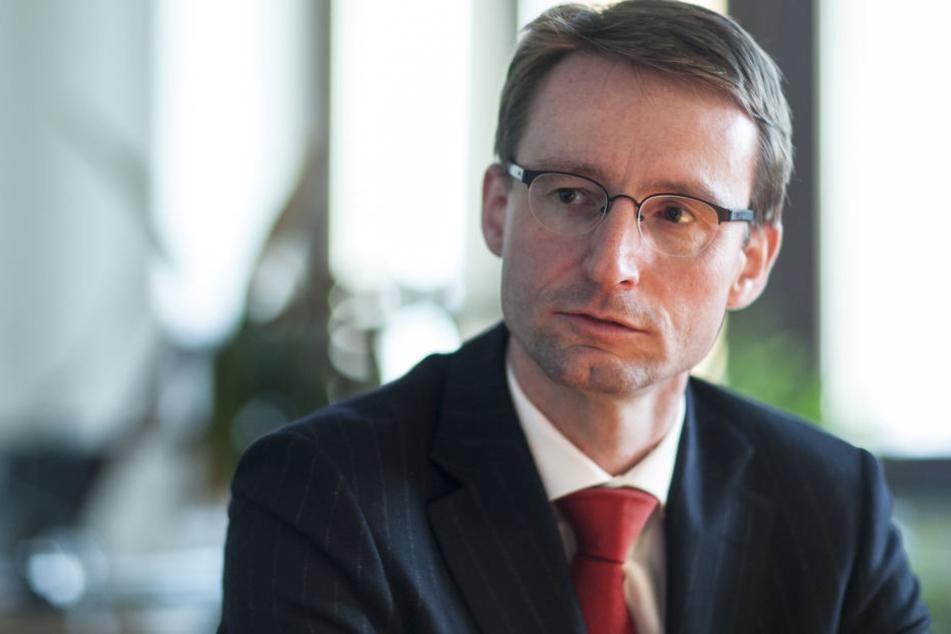 Sachsens Innenminister Roland Wöller (47, CDU).
