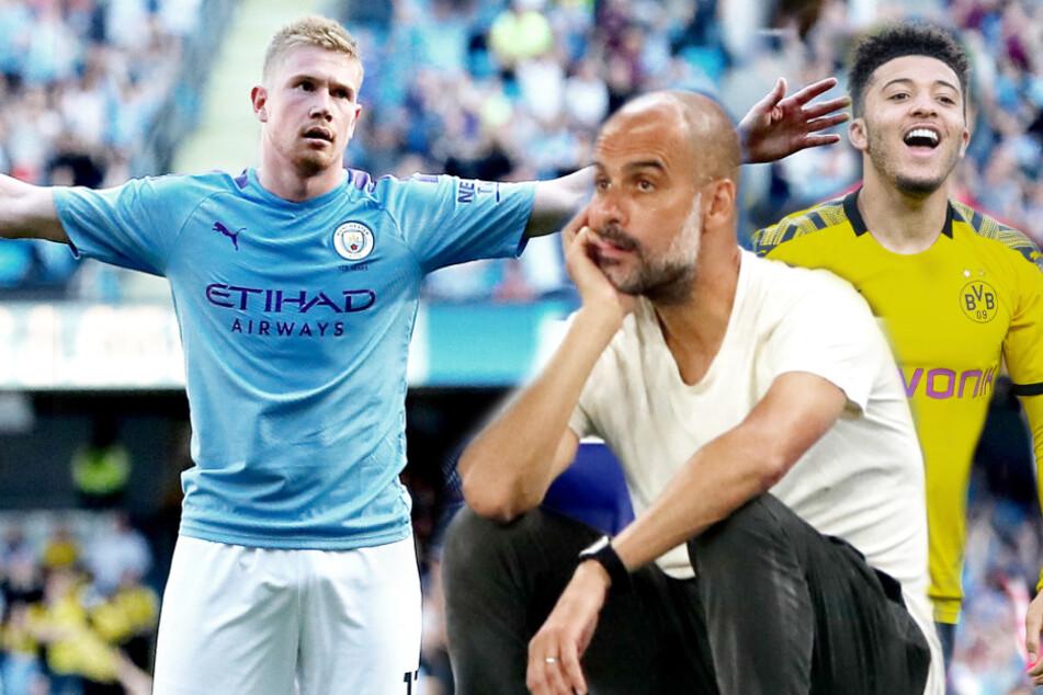 Sancho zu ManCity zurück? Guardiola spricht Klartext und will Umbruch, geht sogar de Bruyne?