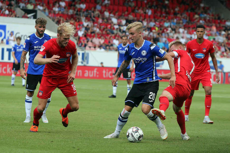 Nils Seufert regelt die Situation gelassen.