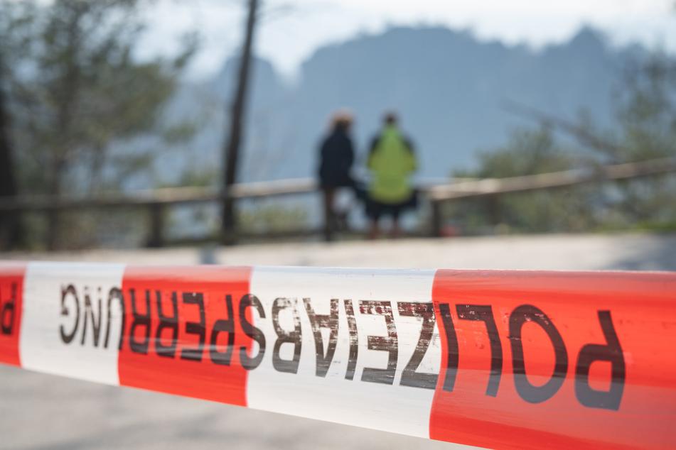 Bestimmte Teile der Sächsischen Schweiz sind schon über eine Woche abgesperrt.