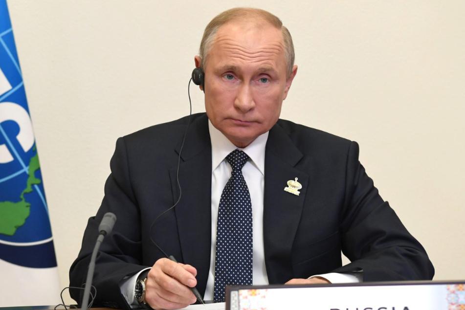 Russlands Präsident Wladimir Putin (68).