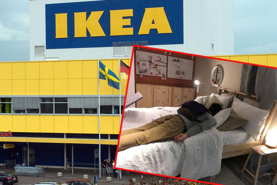 Ikea nimmt 200 gestrandete Autofahrer auf