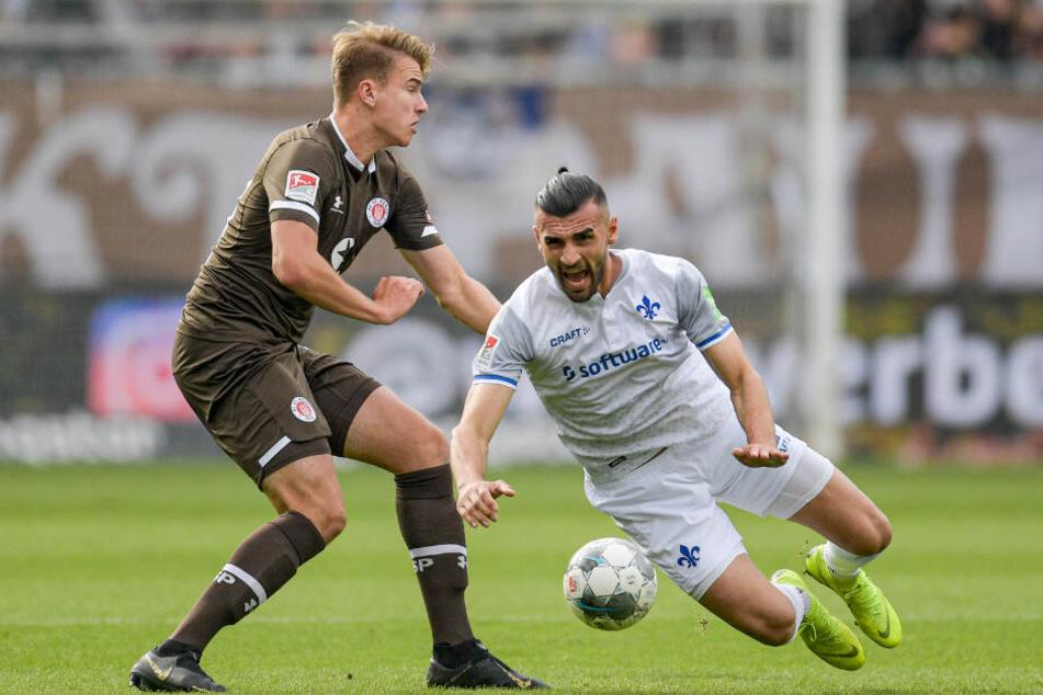 Florian Carstens kam in der Saison nur spärlich zum Einsatz.