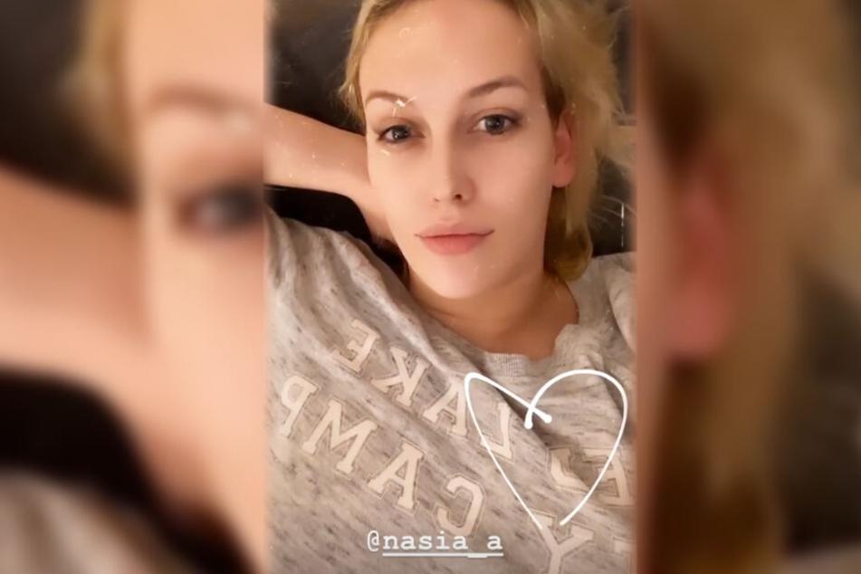 Reality-Sternchen Josimelonie aus Mainz unterstützt ihre Freundin Anastasiya.