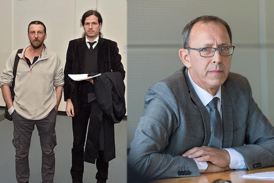 Landgericht prüft: Darf der AfD-Chef Faschist genannt werden?