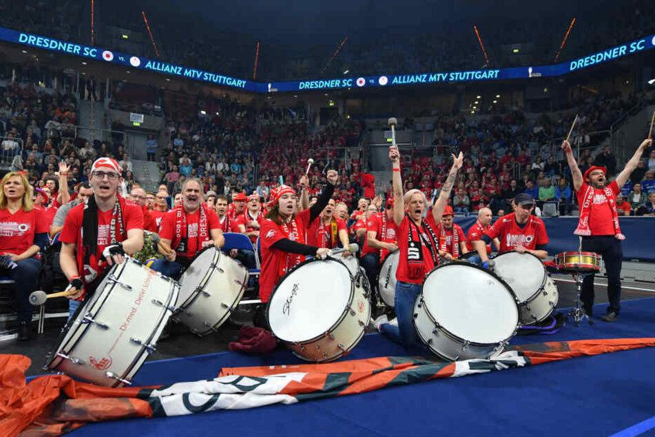 Die Unterstützung der DSC-Fans war fantastisch.