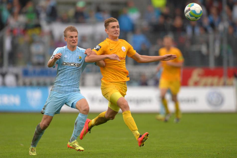 Für Hansa Rostock gab Dennis Srbeny sein Drittliga-Debüt.