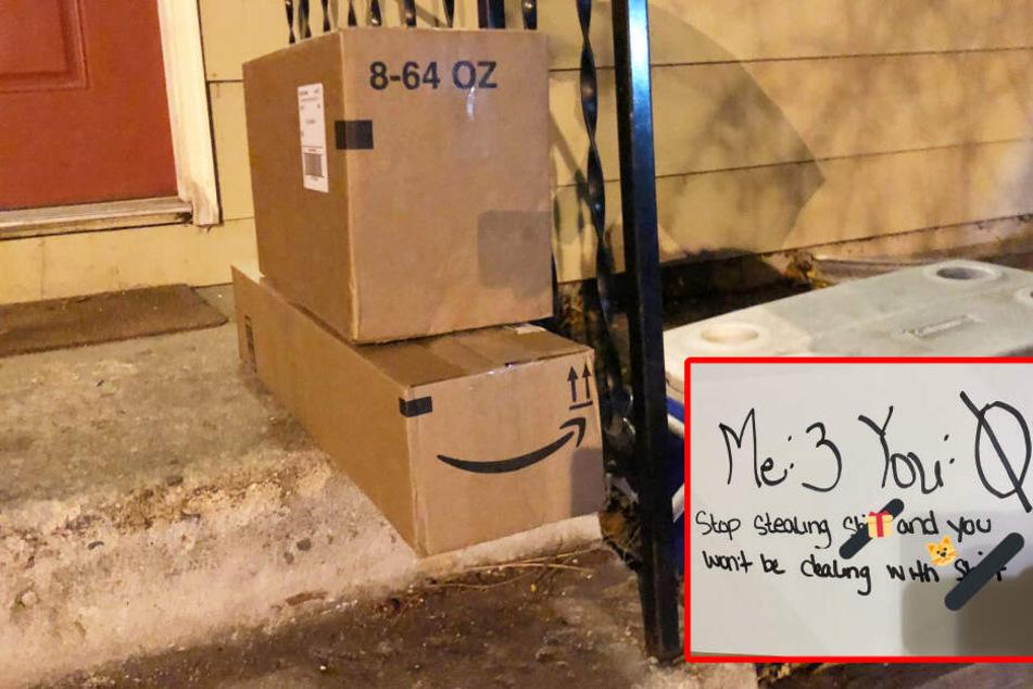 Familie wurden über 20 Pakete gestohlen: So wehren sie sich!