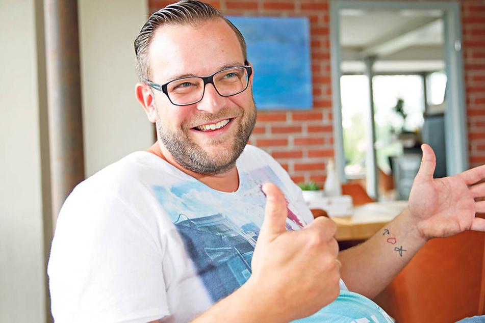 """""""Hafenmeisterei""""-Wirt Georg Bauch  (31) freut sich auf eine inspirierende Gastronomen-Runde am Mittwoch."""