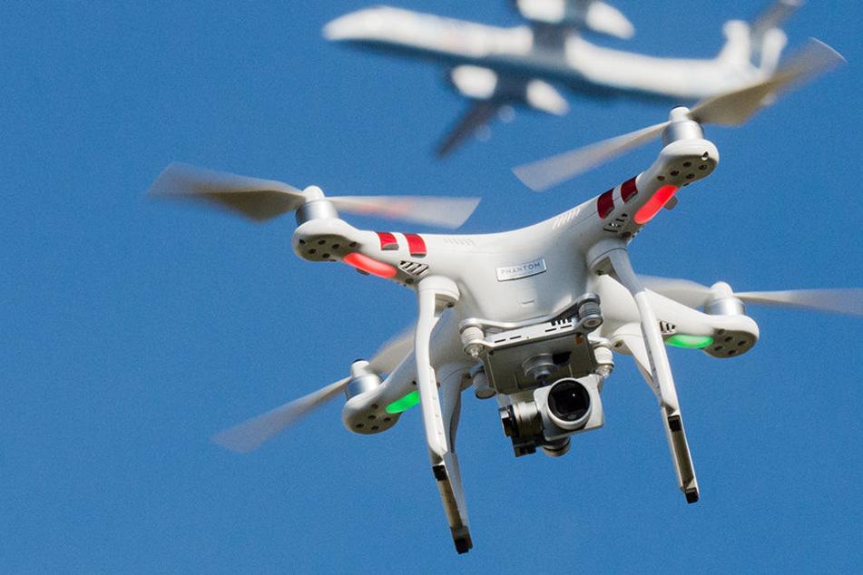 """Der Unbekannte wollte mit der Drohne """"gesundheitsgefährdende Stoffe"""" abwerfen."""