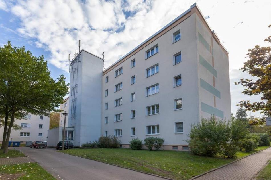 Das Haus Usti nad Labem 97: Äußerlich erinnert nichts mehr an die Ereignisse  vor einer Woche.