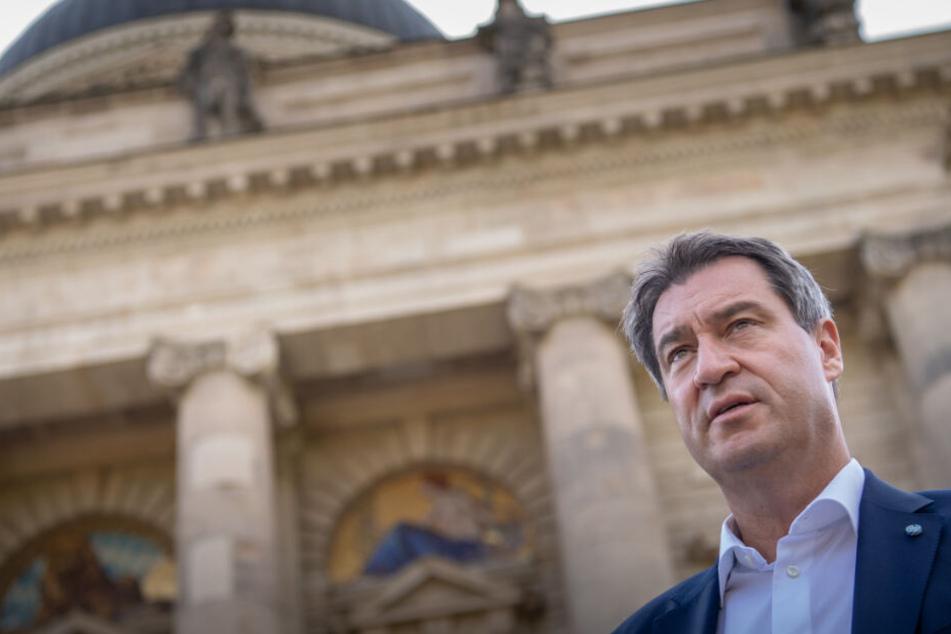 Markus Söder ist gegen Verteilmechanismus für Flüchtlinge aus Seenotrettung