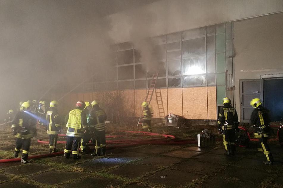 Bei dem Brand gab es eine enorme Rauchentwicklung.