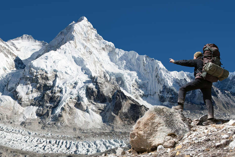 Mount Everest is Earth's highest mountain above sea level.