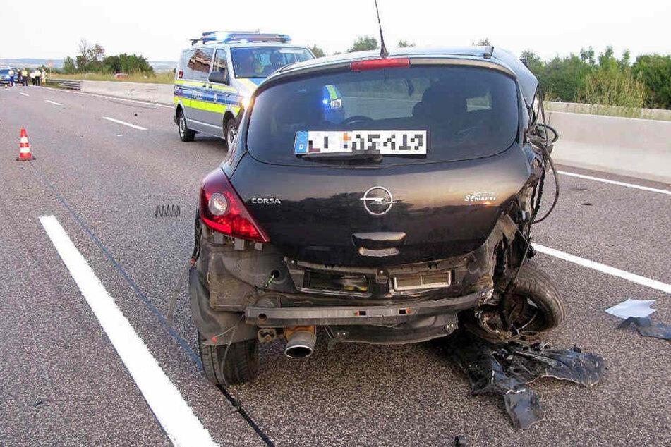 Insgesamt entstand ein Sachschaden von rund 70.000 Euro.
