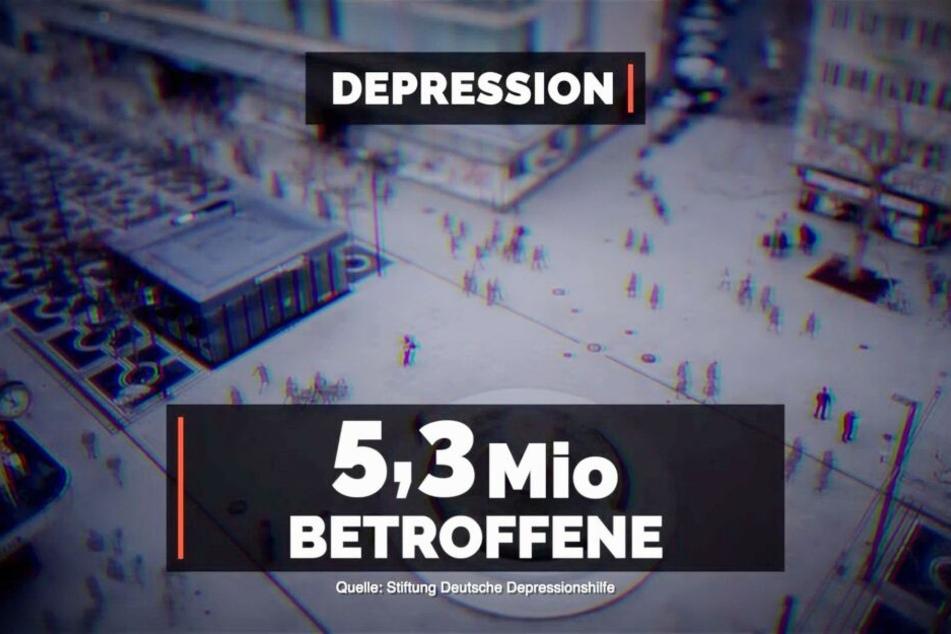 Viele Menschen in Deutschland leiden unter Depression und viele davon lassen sich stationär behandeln.