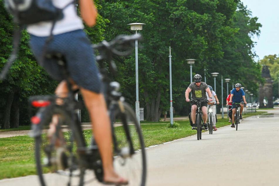 Geht es nach den Grünen, fahren immer mehr Dresdner Rad.