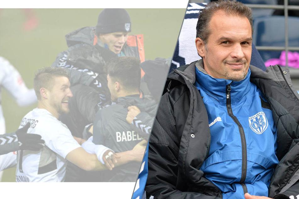 Babelsbergs Trainer Almedin Civa.