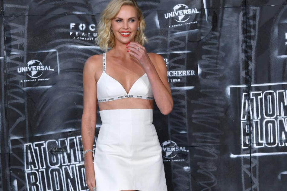 Die Schauspielerin auf Promotour für ihren Film Atomic Blonde.