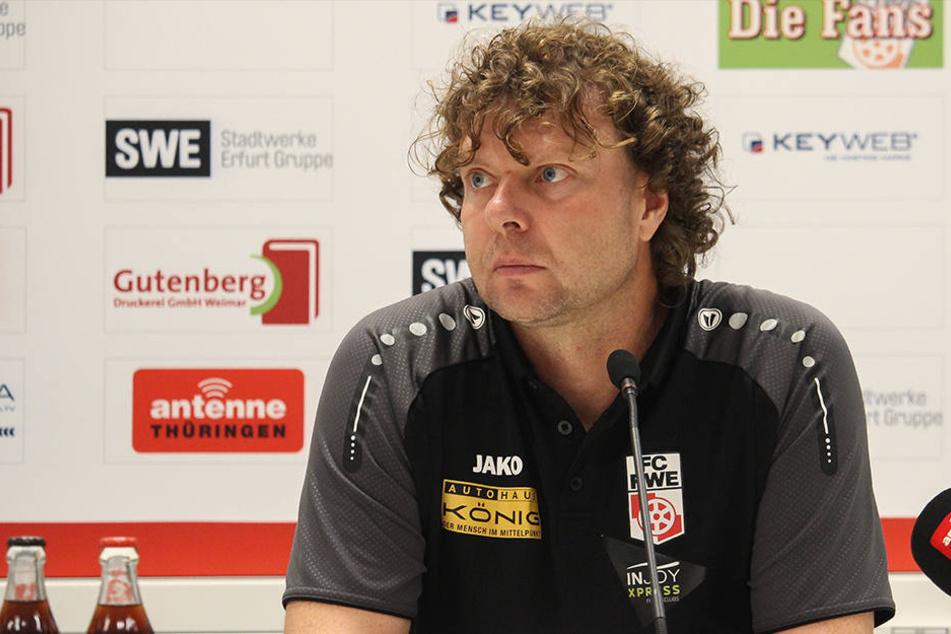 Trainer Krämer soll beurlaubt worden sein.