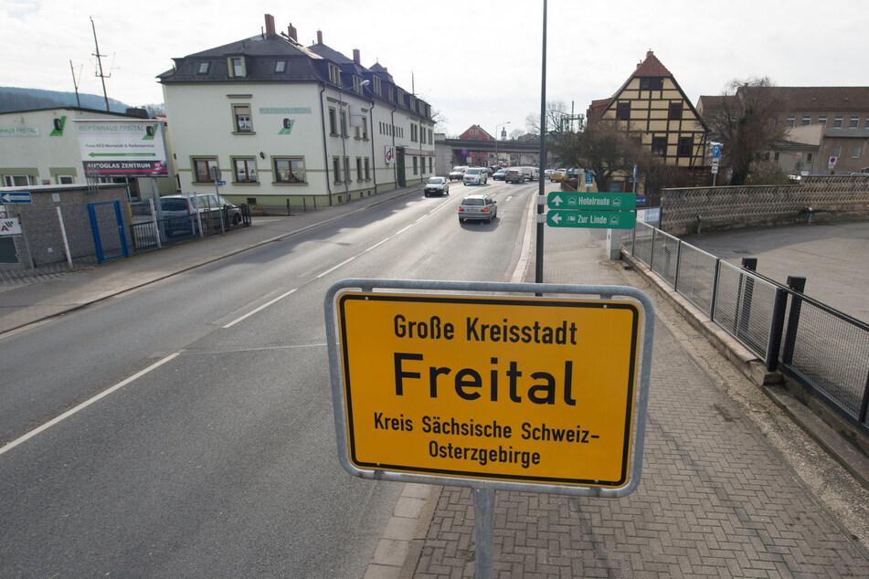 Das tödliche Unglück ereignete sich in Freital bei Dresden. (Symbolbild)
