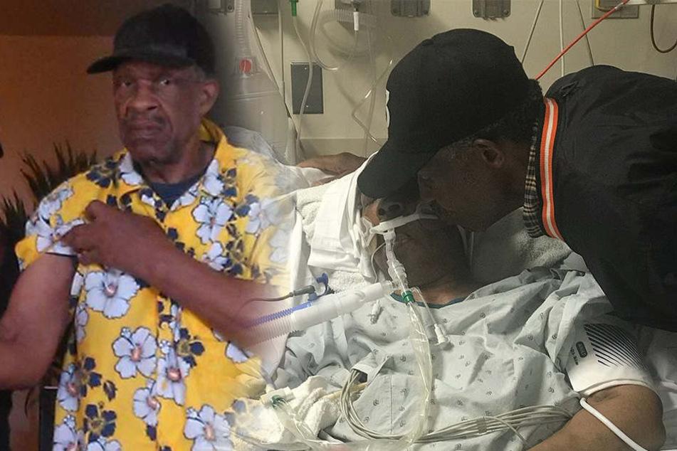 Waverlee liegt gelähmt im Krankenhaus. Jeden Tag wird sie von ihrem Mann besucht.