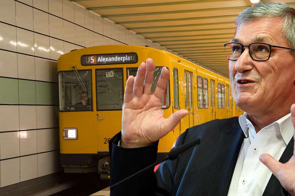 Linke-Chef Bernd Riexinger rechnet für einen kostenlosen ÖPNV mit 18 Milliarden Euro jährlich.