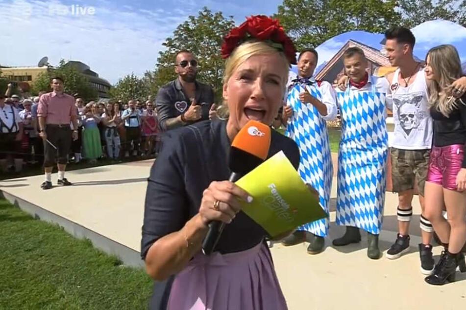 """Wahnsinns-Stimmung im""""ZDF-Fernsehgarten"""" mit Kiwi und Co."""