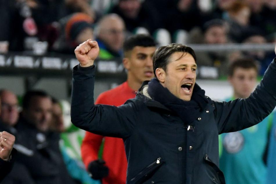 Auswärts ist die Freude in dieser Saison bei Eintracht-Trainer Niko Kovac fast immer groß.