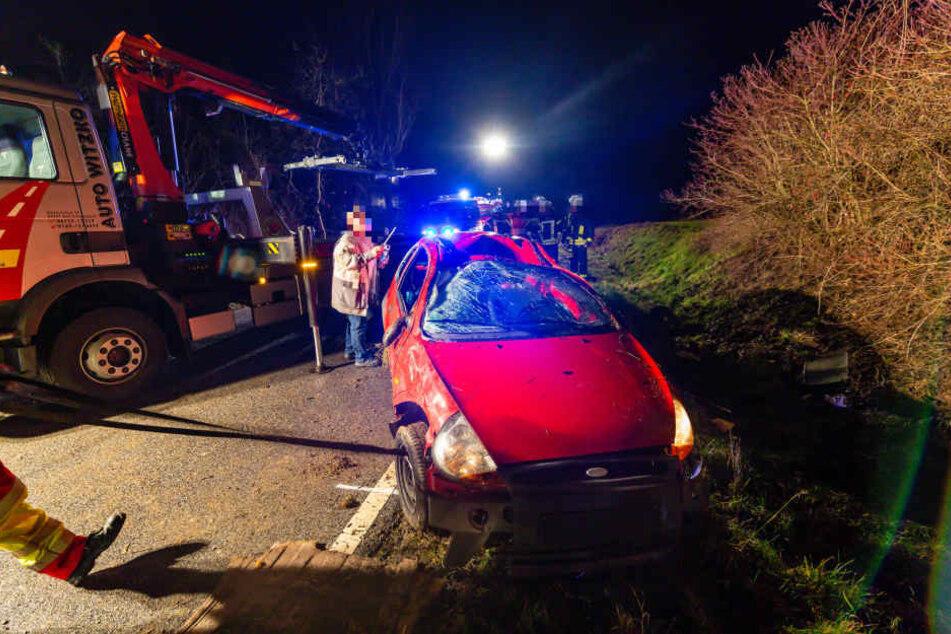 Die Wiesbadenener Staatsanwaltschaft entsandte einen Gutachter zur Unfallstelle, der Wagen wurde sichergestellt.