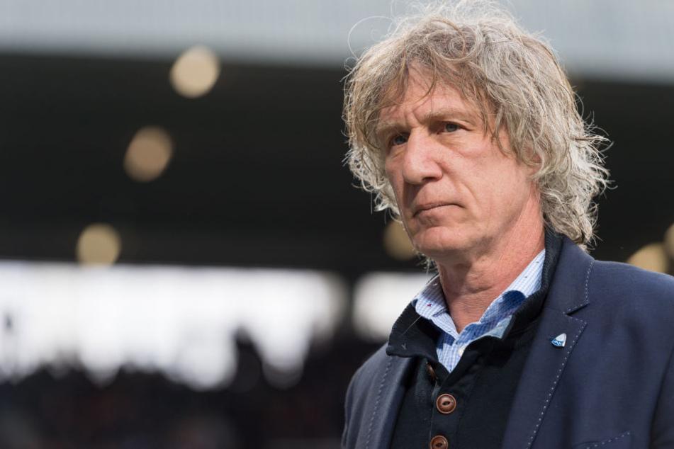 Bochums Coach Geertjan Verbeek lobt Dynamo in höchsten Tönen.