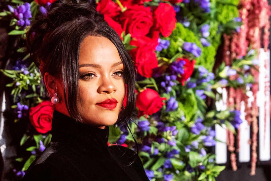 Rihanna kürzlich bei der Diamond Ball Gala in New York.