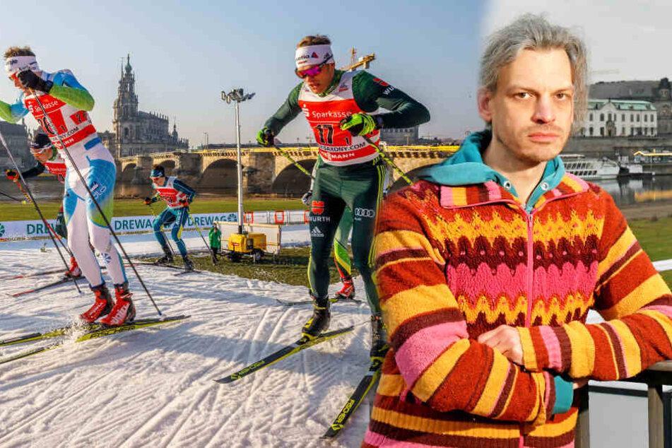 Klimaschützer gegen Dresdner Ski-Weltcup