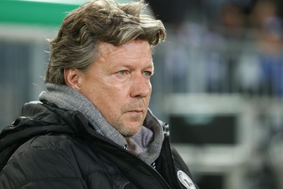 DSC-Trainer Jeff Saibene will am Freitag gegen Duisburg gewinnen.