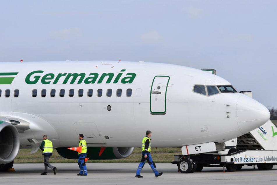 Die Fluggesellschaft Germania fliegt schon seit über 30 Jahren.
