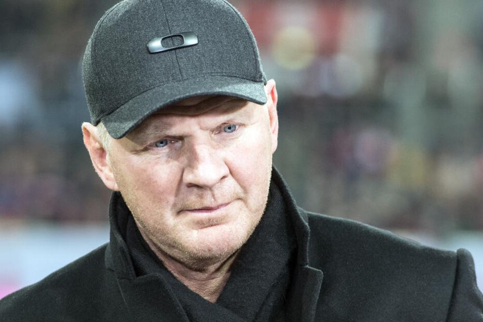Stefan Effenberg (51) wird als neuer Manager des KFC Uerdingen vorgestellt.
