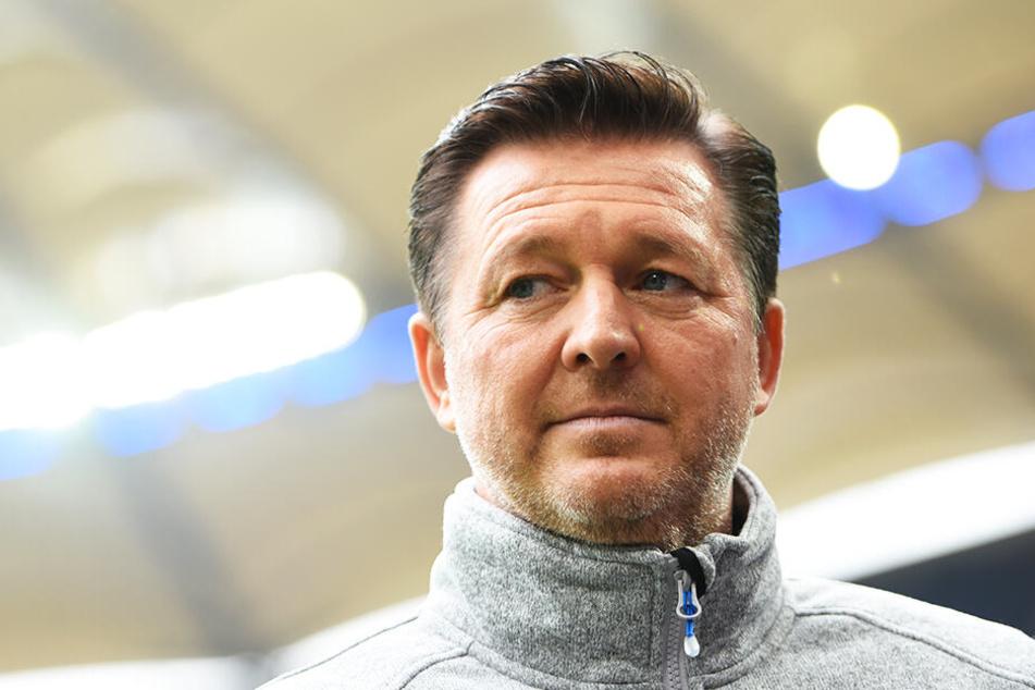 RWE-Trainer Christian Titz steht nach drei Niederlagen in Folge trotz hervorragenden Saisonstart schon wieder unter Druck.