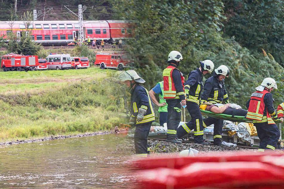 Fast 1000 Rettungskräfte in Bad Schandau: Was war hier los?