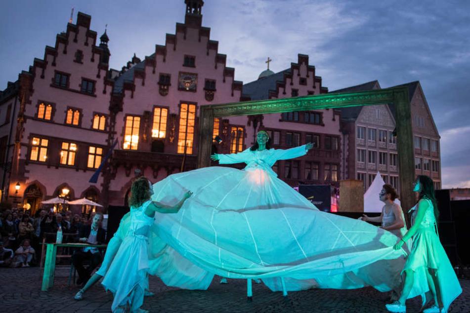 Im Vorjahr gab es unter anderem eine spektakuläre Tanz-Show. Auch in diesem Jahr wird den Besuchern sicherlich einiges geboten (Archivbild).