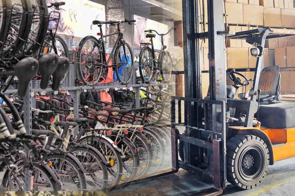 Nach dem Diebstahl von etwa 40 E-Bikes sucht die Polizei nach Zeugen (Symbolbild).