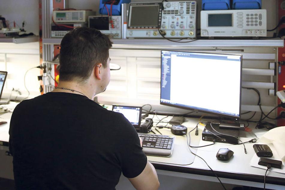 Pinsel und Puder ade: Ein IT-Forensiker macht digitale Spuren sichtbar.