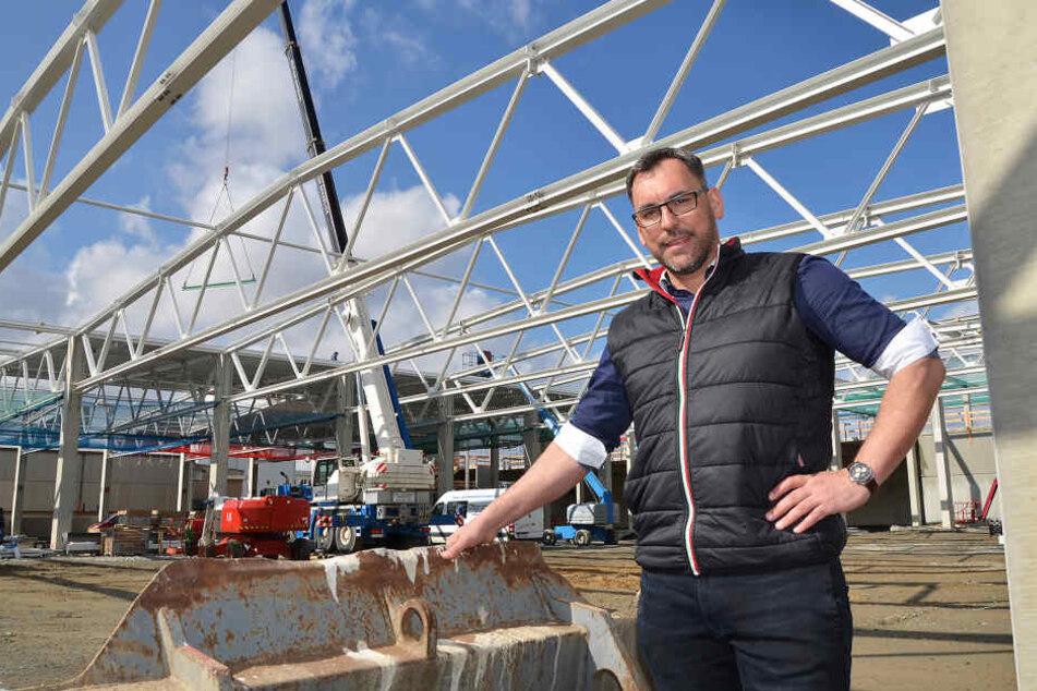 Capron-Geschäftsführer Daniel Rogalski hat den Werksverkehr eingeführt.