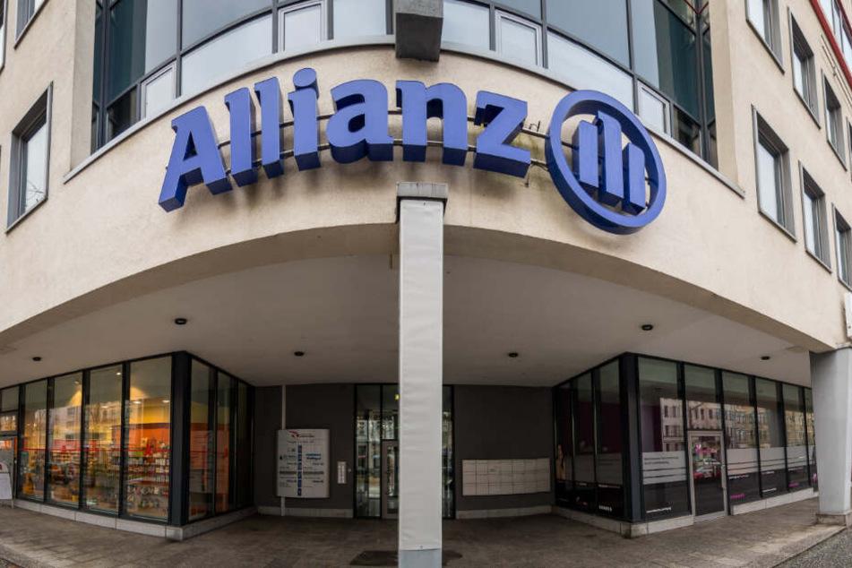 Die Allianz-Zentrale in Leipzig - insgesamt 1,4 Millionen Euro Schaden sollen dem Unternehmen entstanden sein.