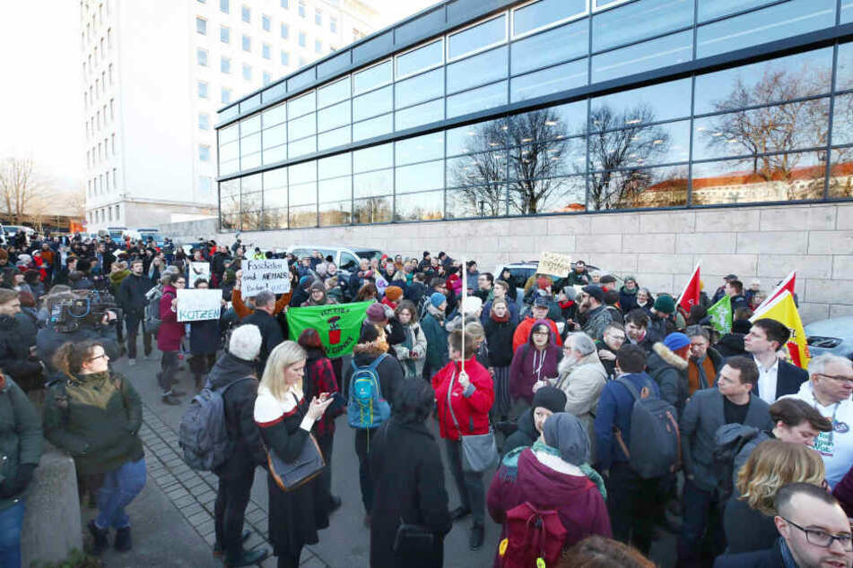 Am Samstag werden bei einer Demo in Erfurt bis zu 10.000 Teilnehmer erwartet.