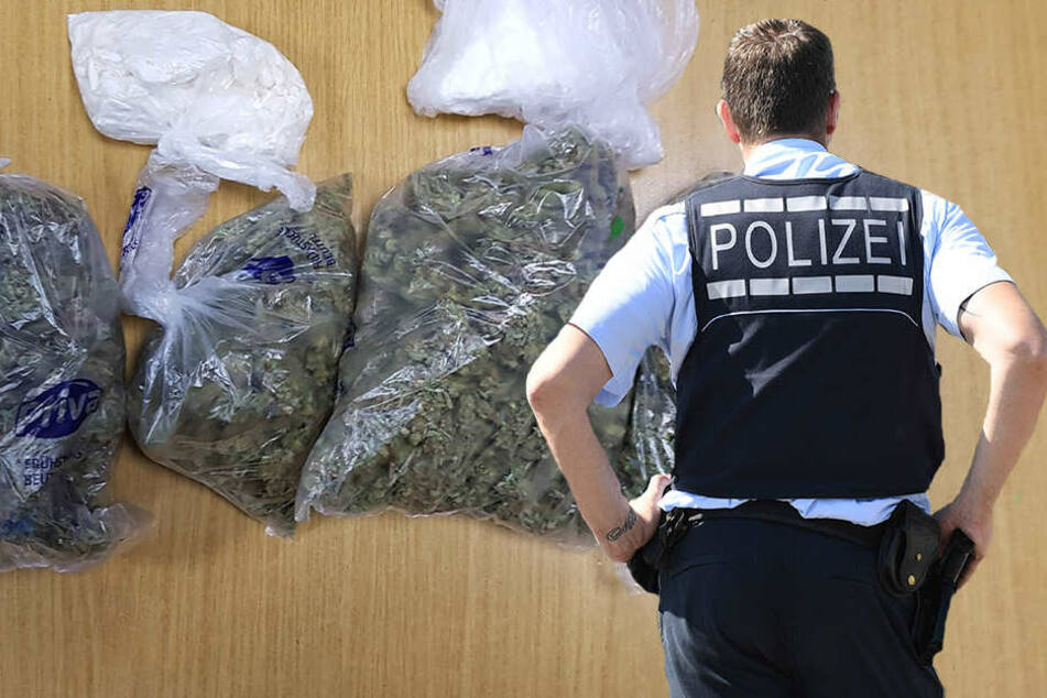 Kurios: Drogenfund treibt Polizisten Tränen in die Augen!