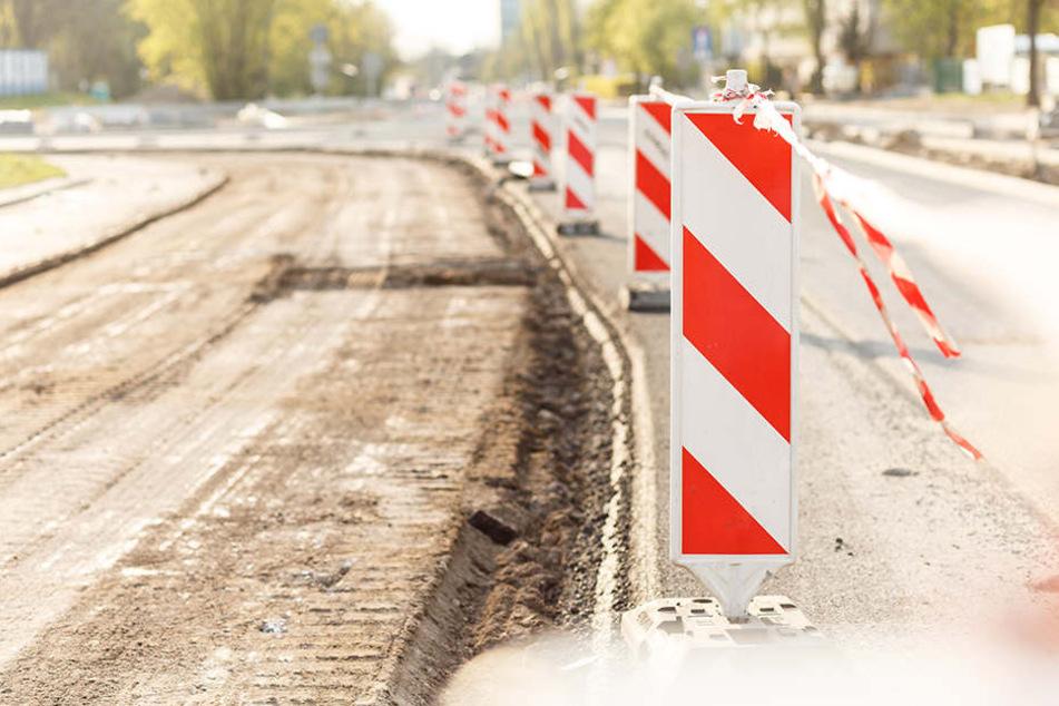 Eine Woche dicht: A4-Anschluss-Stelle voll gesperrt