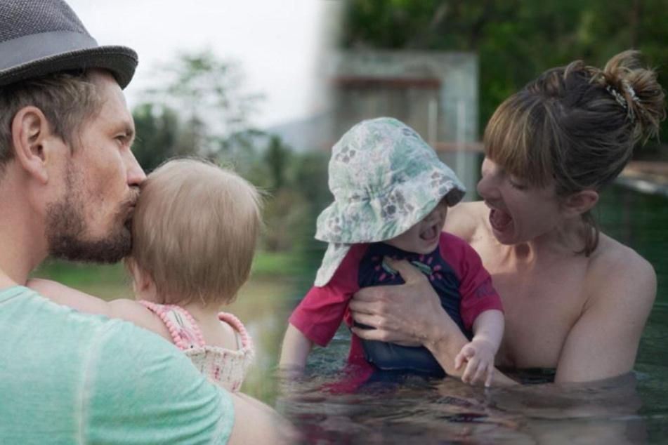Mama Isabell und Papa Jens waren mit Ella sogar schon im Urlaub.