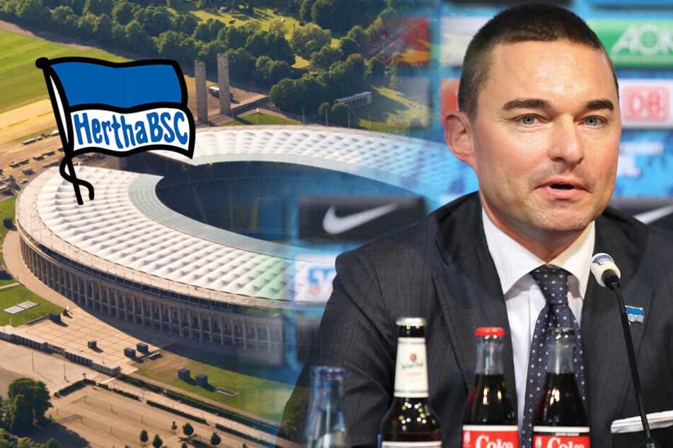 Neues Hertha-Stadion: Windhorst will Arena mit 90.000 Fans!