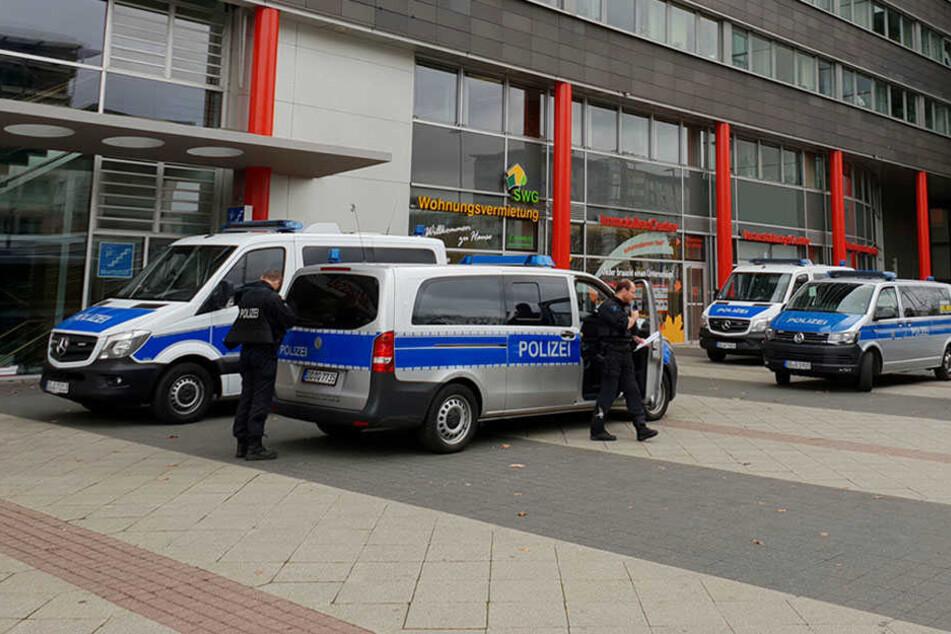 Und wieder gibt es eine Bombendrohung gegen das Jugendamt im Moritzhof.