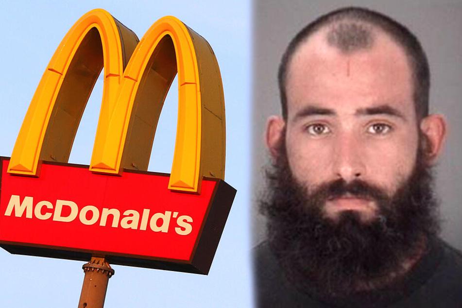 Ein Besuch bei McDonald's machte ihn wütend: Jesus Oscar Ferrer (30) sitzt im Gefängnis von Pasco County ein.